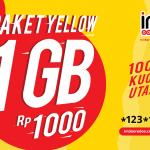 Cara mudah Berhenti Paket yellow indosat IM3 1GB seribu