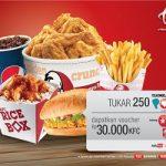 Cara Menukar Poin Telkomsel Dengan Voucher KFC Terbaru 2018